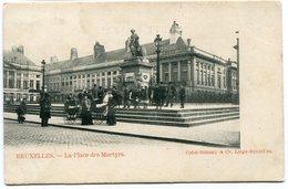 CPA - Carte Postale - Belgique - Bruxelles - La Place Des Martyrs (B8892) - Places, Squares