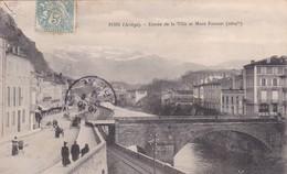 [09] Ariège > Foix Entrée De La Ville Et Mont Fourcat - Foix