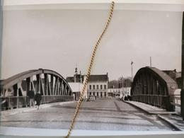 Photo Original 1950, Lys Pont De Harelbeke - Harelbeke