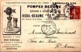 > [92] Hauts De Seine > Boulogne  / MOULIN A VENT   / VOIR  DOS  PUB - Boulogne Billancourt