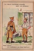 Gavis D'Esmeuras - Soldat à L'épouse Bloquée Par Un Lumbago ... Espagnol ? - 1940 - Humor