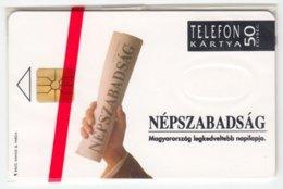 HUNGARY E-006 Chip Matav - Advertising, Newspaper - In Blister - Hongrie