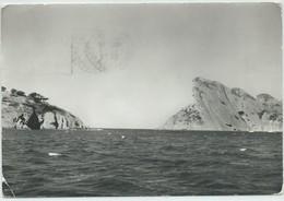La Ciotat-Le Passe-A Gauche: L'Île Verte,A Droite: Le Bec D'Aigle (Corne D'angle Bas à Gauche (Cassure)) (CPSM) - La Ciotat