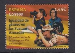 32.- SPAIN 2018 Gender Equality In The Armed Forces - 1931-Hoy: 2ª República - ... Juan Carlos I