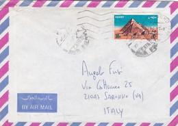 BUSTA VIAGGIATA BY AIR MAIL  - EGITTO - VIAGGIATA  PER SARONNO ( VARESE ) / ITALIA - Egitto