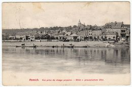 Luxembourg / Remich, Vue Prise Du Rivage Prussien --> 1912 - Remich