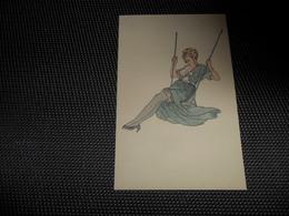 Illustrateur ( 366 )  Pas De Signature   Femme érotique - 1900-1949