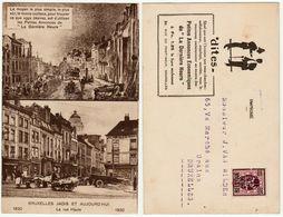 Bruxelles Jadis Et Aujourd'hui, La Rue Haute --> Bedrukt - Multi-vues, Vues Panoramiques