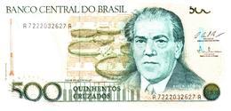 Billets > Brésil > 500  Cruzeiros - Brasilien