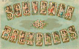 Souvenir De Bruxelles --> écrit - Panoramische Zichten, Meerdere Zichten