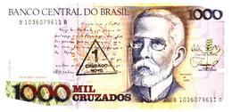 Billets > Brésil > 1000  Cruzeiros - Brasilien