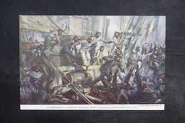 MILITARIA - Carte Postale - L 'Aviso Le Nordcaper Enlève à L' Abordage Une Goélette Turque En 1915 - L 32238 - Guerre 1914-18
