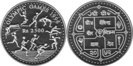 NEPAL 2500 RUPIAS 1996 (155,5 GRAMOS) - Népal