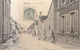 51 /  Prunay : Rue De La Gare     /// REF  JUIN .19 - Autres Communes