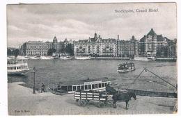 SC-1816   STOCKHOLM : Grand Hotel - Suède