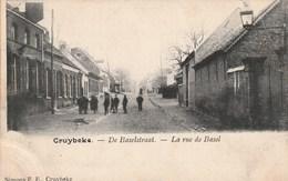 CRUYBEKE (Kruibeke) -  De Baselstraat - Mooie Animatie - Uitg. Simons F.E. - 1903 - Rare - Kruibeke