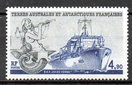 "TAAF. N°136 De 1988. B.A.P. ""Jules Verne"". - Navires & Brise-glace"