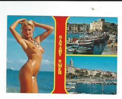 83 Sanary Multivues + Femme Nue - Sanary-sur-Mer