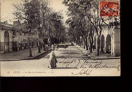 La Rue De Constantine - Sétif - Scènes & Types