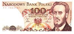 Billets > Pologne 100  Zlotych  1986 - Pologne