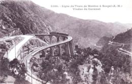 06 - Alpes Maritimes - Ligne Du Tram De MENTON A SOSPEL - Viaduc Du Caramel - Menton