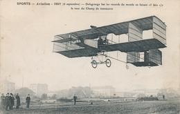 CPA - Thèmes - Aviation -1914: Précurseurs - Issy - Delagrange Bat Les Records Du Monde - ....-1914: Precursori