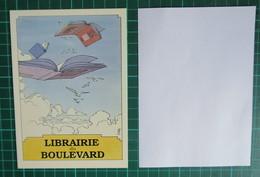 Carte - Cosey - Librairie Du Boulevard - Cartes Postales
