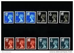 GREAT BRITAIN - 1989  REGIONAL SET (15+20+24+34p.)  MINT NH - Regionali
