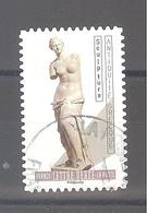 France Autoadhésif Oblitéré (Le Nu Dans L'art - Antiquité Grecque) (cachet Rond) - France