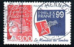 Type MARIANNE DE LUQUET - 3F (Philexfrance 99)  N°3127 Obl. - France