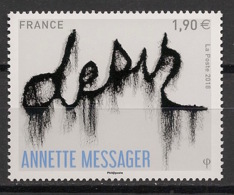 France - 2018 - N° Yv. 5202 - Annette Messager - Neuf Luxe ** / MNH / Postfrisch - Nuevos