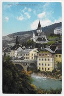 Murau. Bahnhofbrucke M. Schloss - Autriche