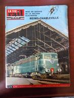 """La Vie Du Rail N° 978 électrification Reims-Charleville - Jean Marais Et Louis De Funès (Fantomas) - """"Bois-Salève"""" - Trains"""
