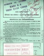 78 - SEINE ET OISE (YVELINES) - POISSY Ppal AN.1 -  TàD De Type  VIGNETTE DE GUICHET De 1984 - Poststempel (Briefe)