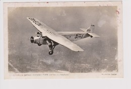 Vintage KLM Photo Ford Tri Engine Aircraft Above Rotterdam - 1919-1938: Between Wars