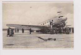 Vintage Pc KLM K.L.M Royal Dutch Airlines Douglas Dc-2 Aircraft @ Schiphol Airport - 1919-1938: Between Wars