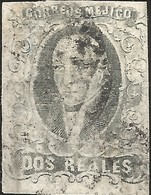J) 1861 MEXICO, HIDALGO, 2 REALES, CHALCO, NICE PIECE, MN - Mexico