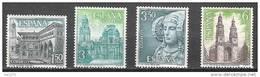 ESPAÑA 1969 - TURISMO - EDIFIL Nº 1935/1938 - Yvert 1589-1592 - 1961-70 Nuevos & Fijasellos