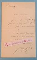 L.A.S 1887 Jules Jacques VEYRASSAT - Peintre Graveur Français - École De Barbizon - Lettre Autographe LAS - Autographes