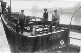 Péniche NA1: Victor Van Beveren ( Photo-carte ) - Houseboats