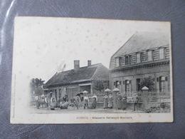 CPA ANIMEE - ROBECQ - BRASERIE HELLEBOID BOURGOIS - Hotel's & Restaurants