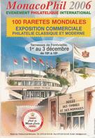 MonacoPhil 2006 EXPOSITION COMMERCIALE - Non Classés
