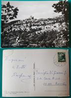 Cartolina Pereto (L'Aquila) - Panorama. Viaggiata - L'Aquila