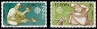 ESPAÑA 1986 - EUROPA CEPT - Edifil 2847-48 - Yvert 2461-2462 - 1961-70 Nuevos & Fijasellos