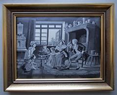 - Tissé Sur Soie - Dans Le Salon - - Tapis & Tapisserie