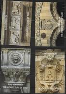 AZERBAIJAN, 2018, MNH, BAKU ARCHITECTURE, LIONS, FAUNA, SHEETLET + 3 S/SHEETS - Architecture