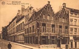 Brussel Bruxelles   Ixelles   Maison Espagnole  Au Roy D'Espagne Taverne Place Du Petit Sablon      I 6204 - Bruxelles-ville