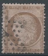 Lot N°49042  N°58, Oblit étoile Chiffrée De PARIS - 1871-1875 Cérès