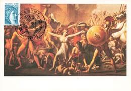 France Lot De 59 Cartes Carte Maximum Card Année 1981 Europa Sabine Escrime Aviation Célébrités Tableau Croix Rouge - 1980-89
