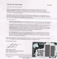 """Österreich 2019:  Block """"CRYPTO STAMP"""" Postfrisch (s.Foto) - 2011-... Ungebraucht"""